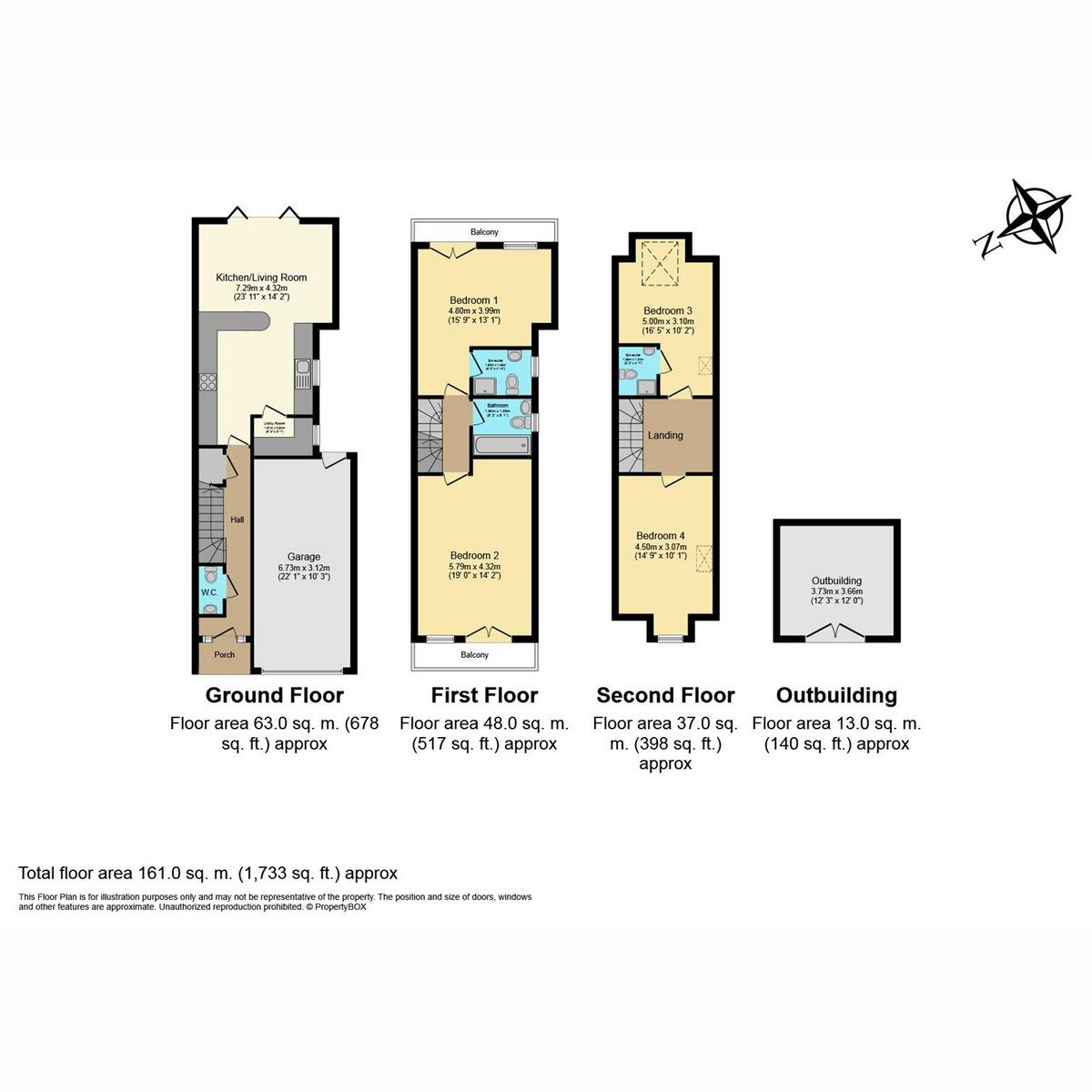 Floorplan 1 of Kents Hill Road, Benfleet, SS7