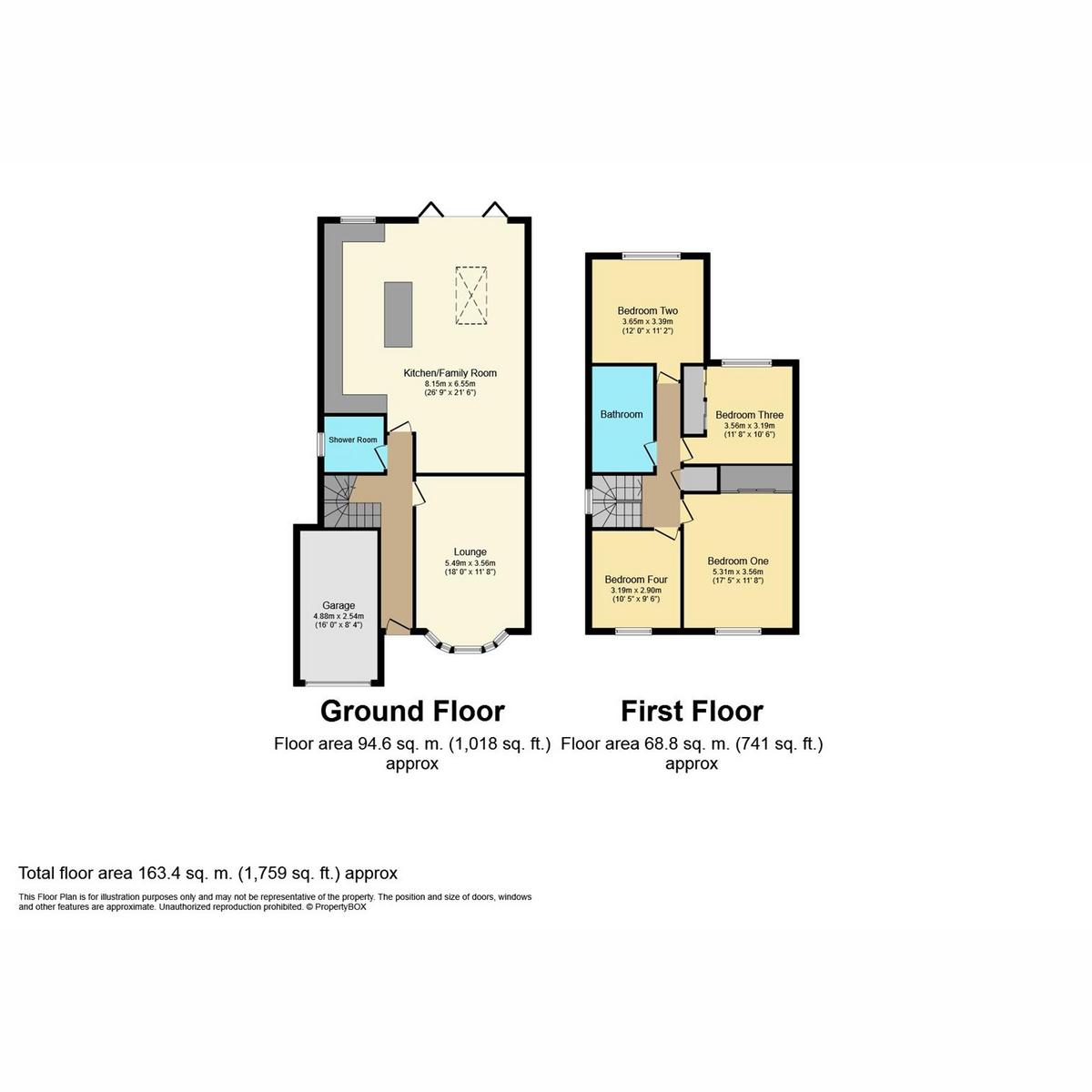 Floorplan 2 of Lea Road, Benfleet, SS7