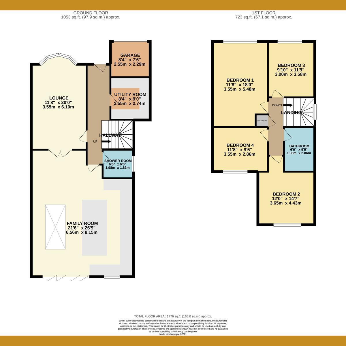 Floorplan 1 of Lea Road, Benfleet, SS7