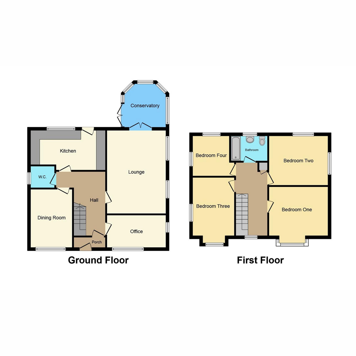 Floorplan 1 of Mortimer Road, Rayleigh, SS6