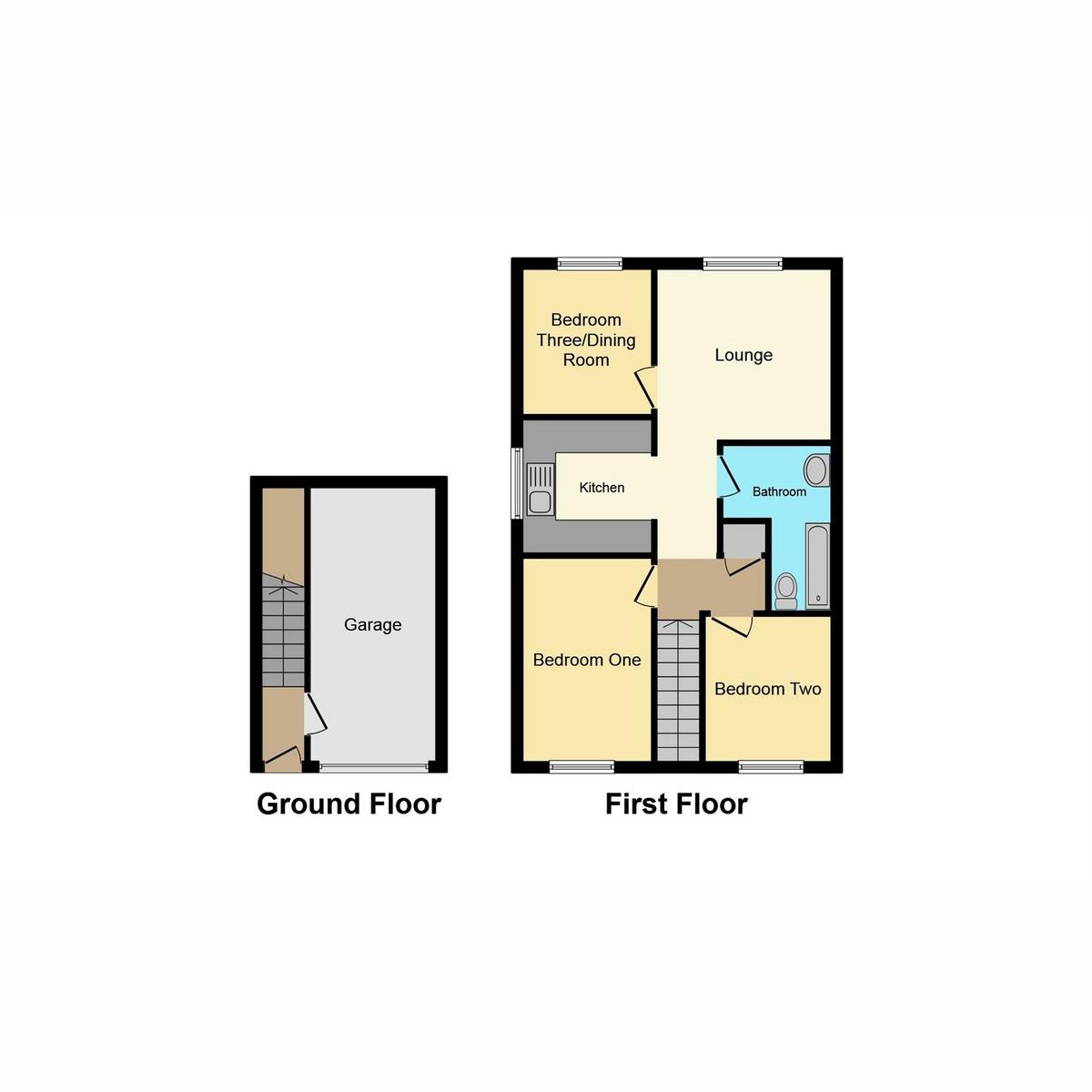 Floorplan 1 of Patterdale, Benfleet, SS7