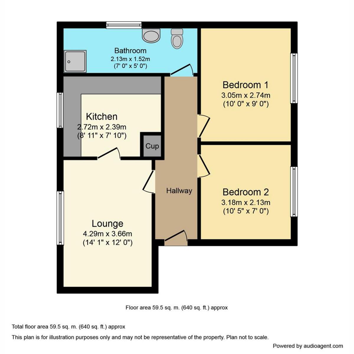 Floorplan 1 of Waterville Drive Vange, Basildon, SS16