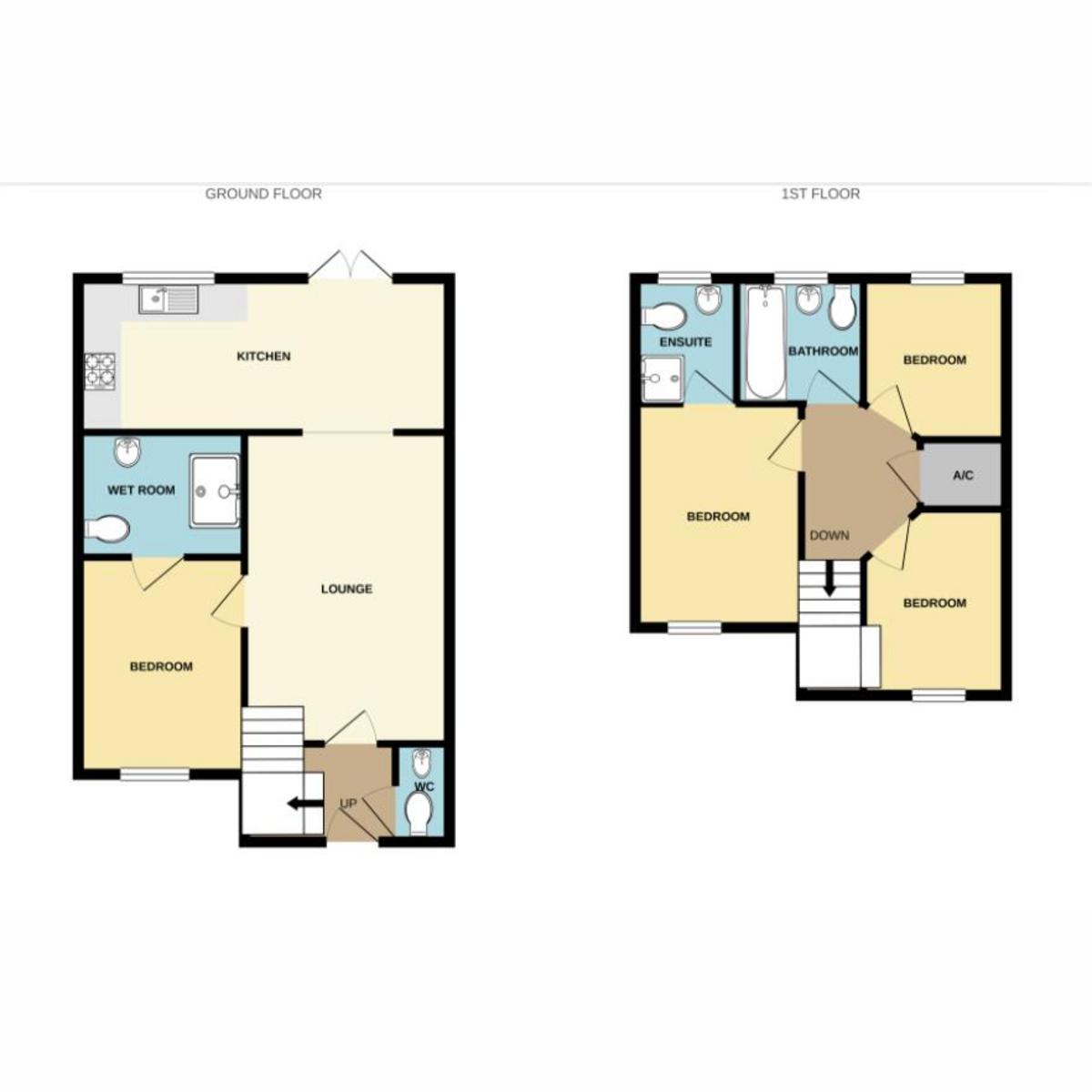 Floorplan 1 of Northampton Grove Langdon Hills, Basildon, SS16
