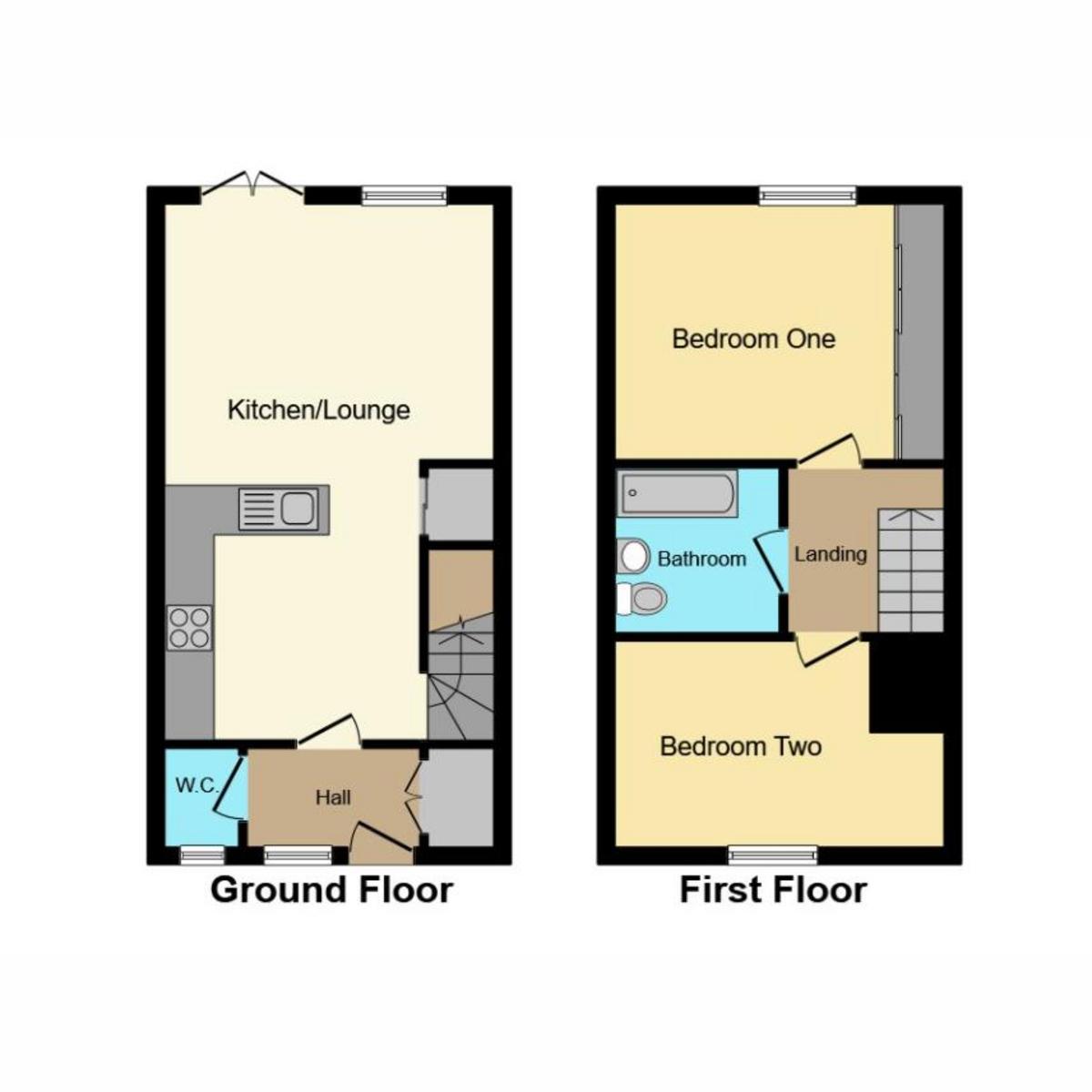 Floorplan 1 of Brick Road, Great Wakering Southend-on-sea, SS3
