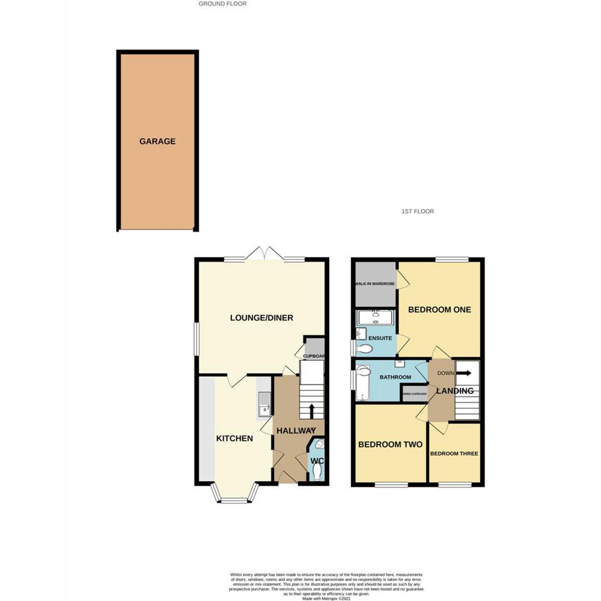 Floorplan 1 of Kingston Road, Benfleet, SS7