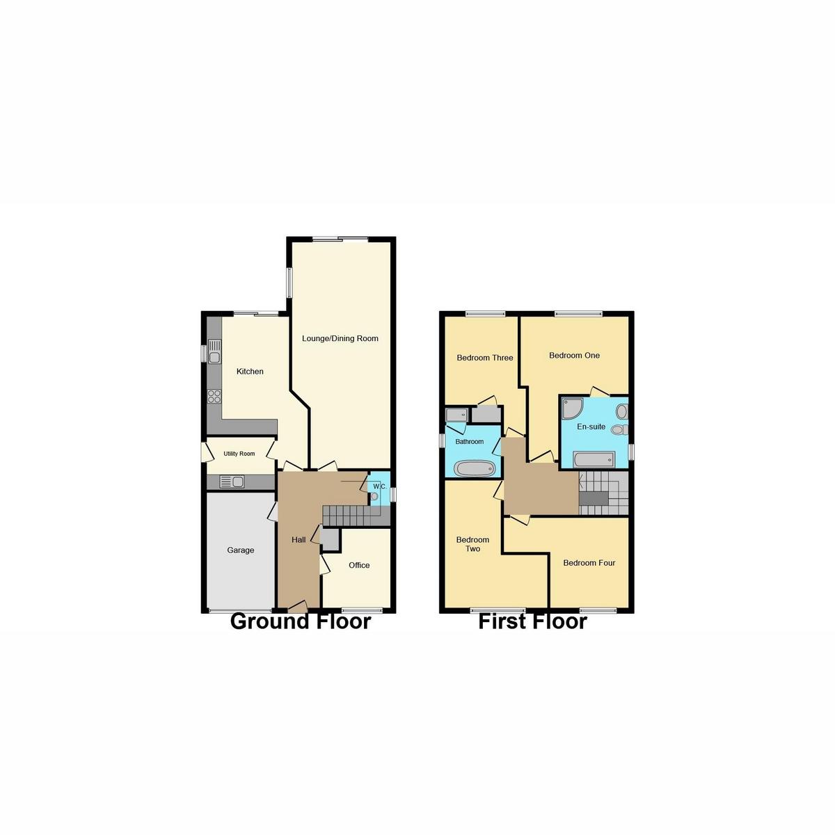 Floorplan 1 of Vowler Road, Langdon Hills Basildon, SS16