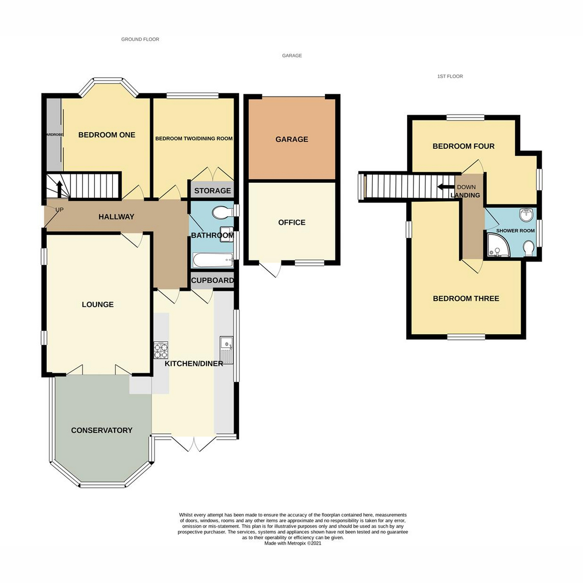 Floorplan 1 of Kenneth Road, Benfleet, SS7