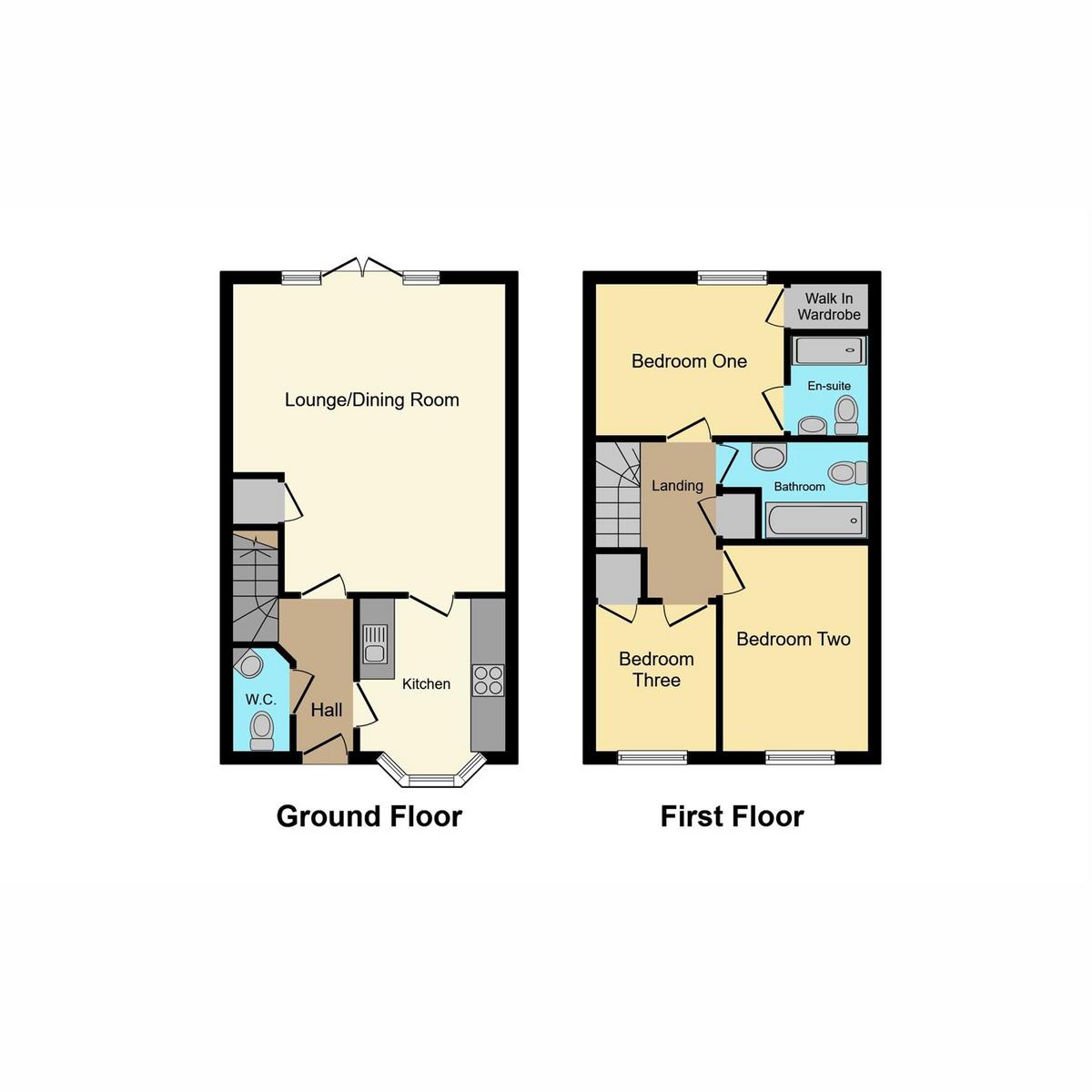 Floorplan 1 of The Poppies, Benfleet, SS7