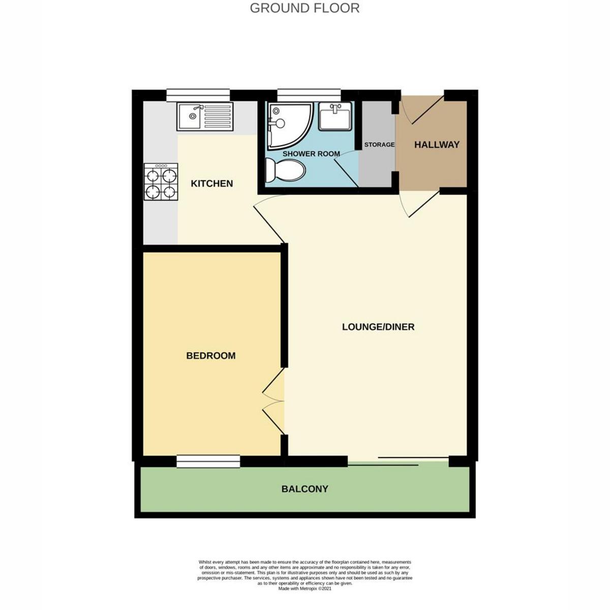 Floorplan 1 of Appleford Court, Basildon, SS13