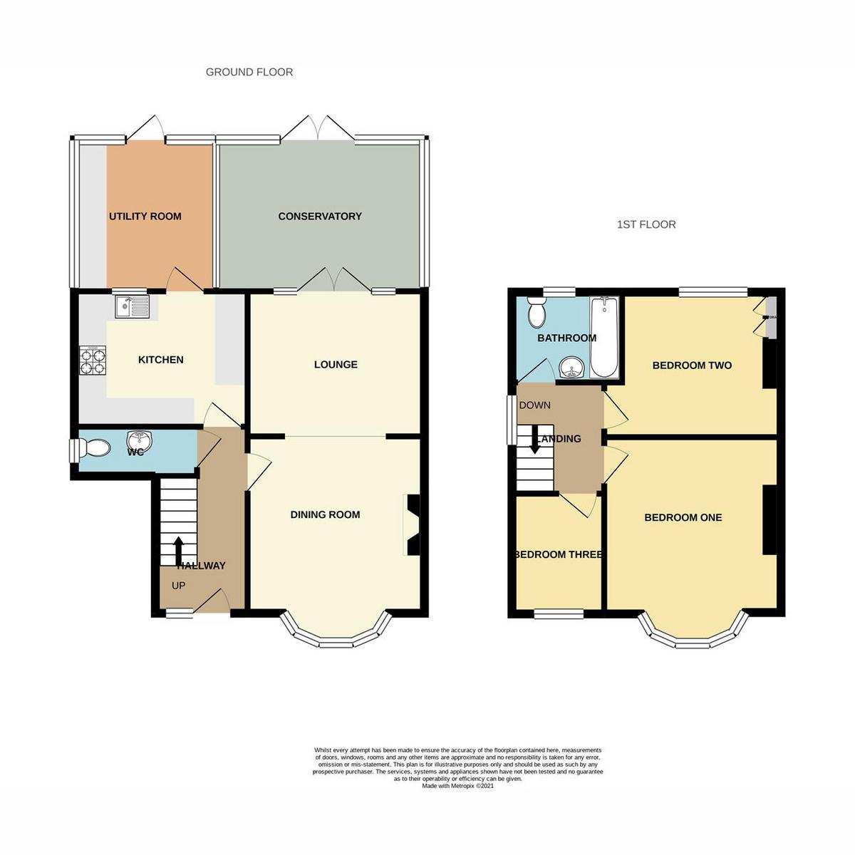 Floorplan 1 of Perry Road, Benfleet, SS7
