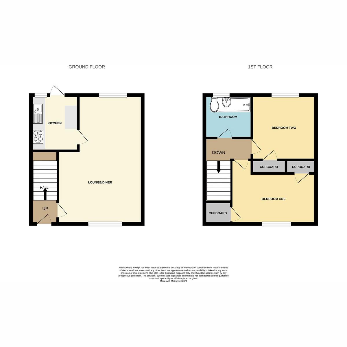 Floorplan 1 of Landermere, Basildon, SS14
