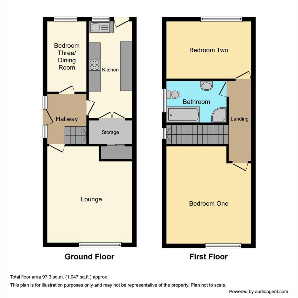 Floorplan 1 of Stanley Road, Benfleet, SS7