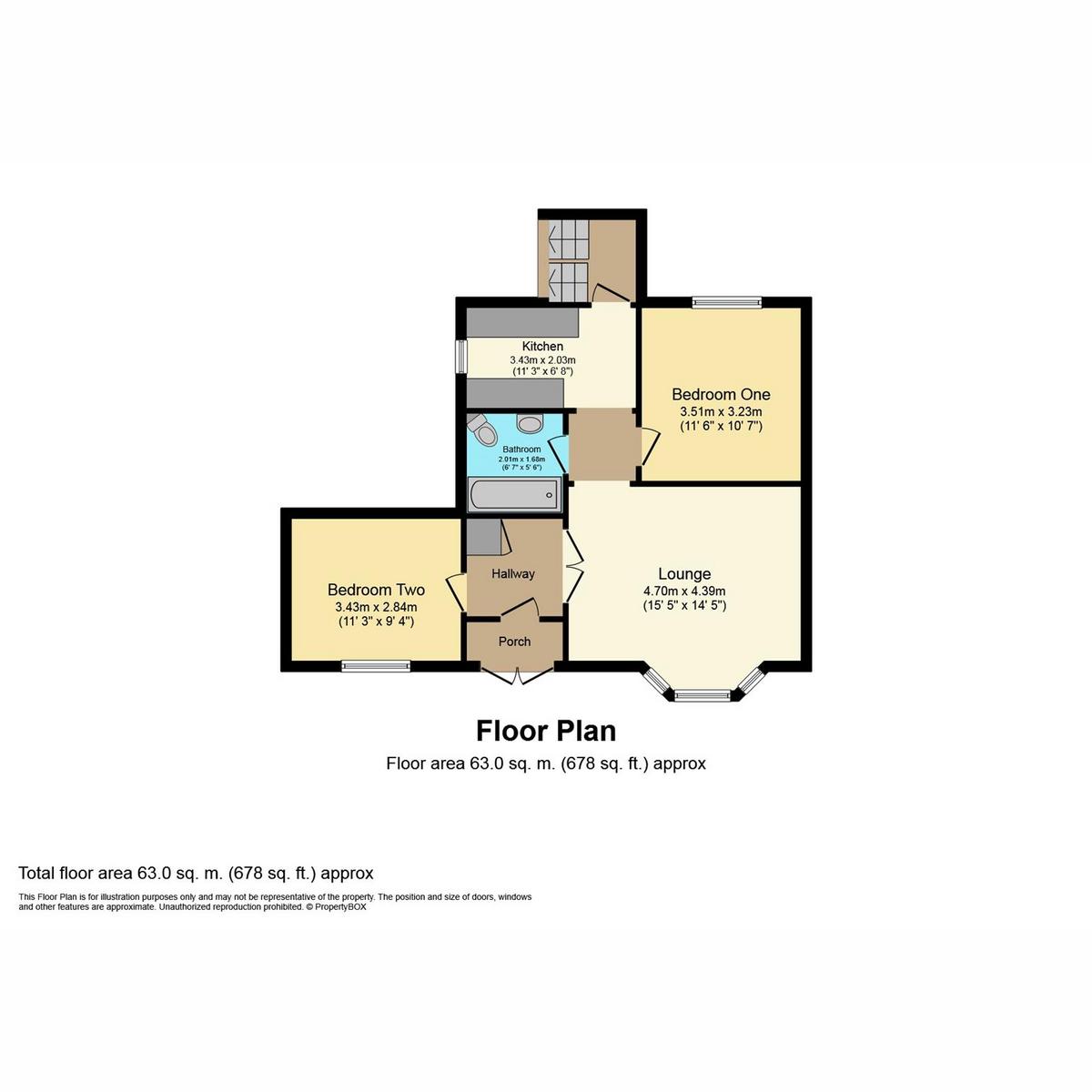 Floorplan 1 of Devereux Road, Southend-on-sea, SS1