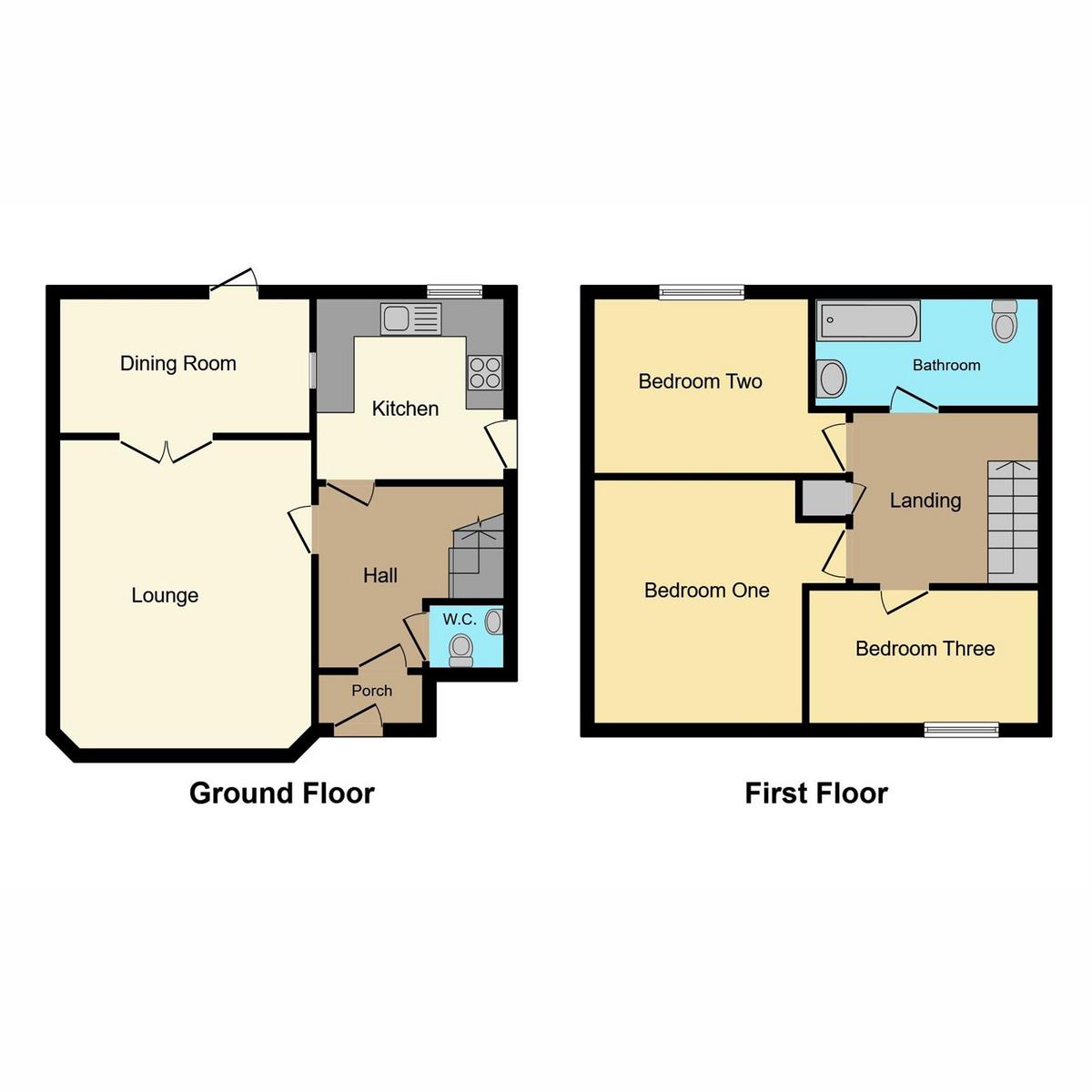 Floorplan 1 of Raphael Drive Shoeburyness, Southend-on-sea, SS3