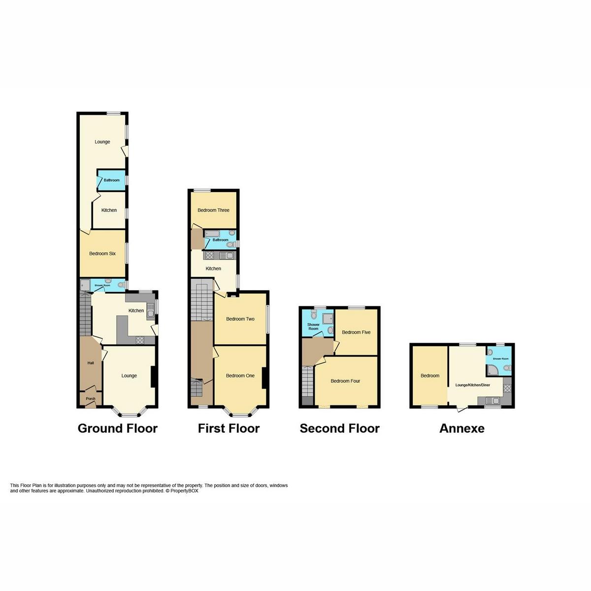 Floorplan 1 of Kilworth Avenue, Southend-on-sea, SS1