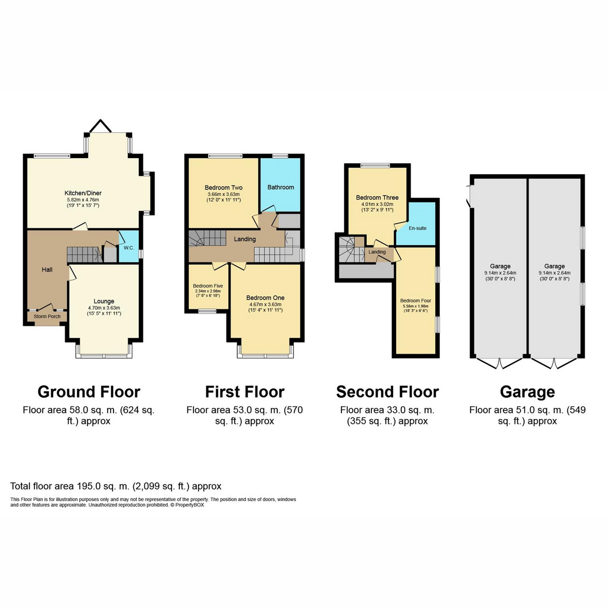 Floorplan 1 of Southbourne Grove, Westcliff-on-sea, SS0