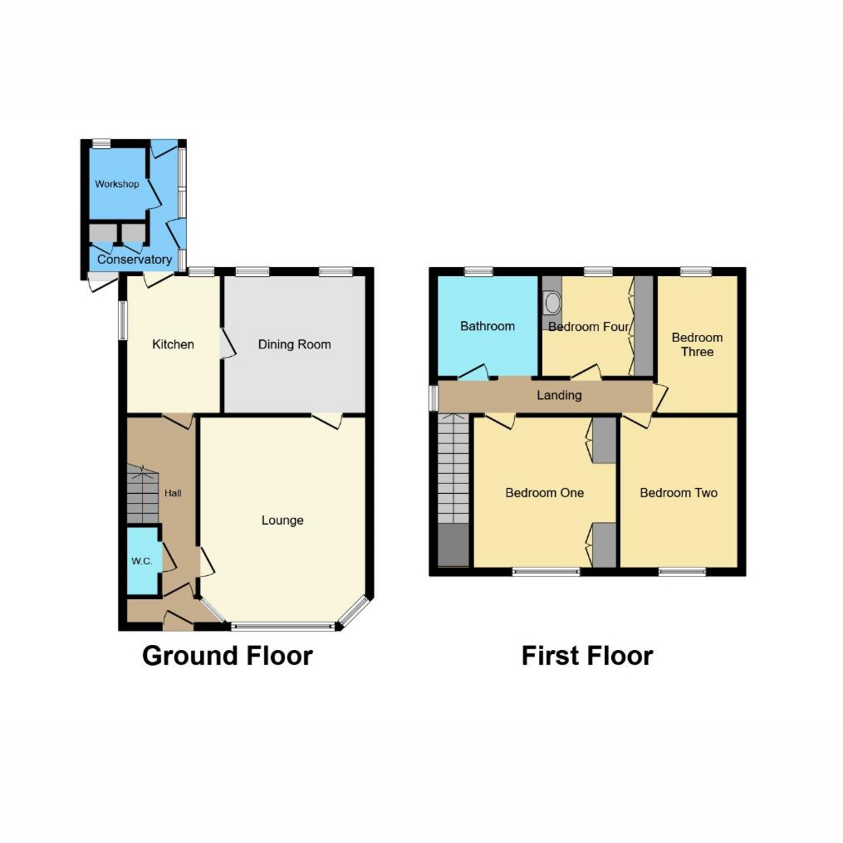 Floorplan 1 of Norwich Avenue, Southend-on-sea, SS2