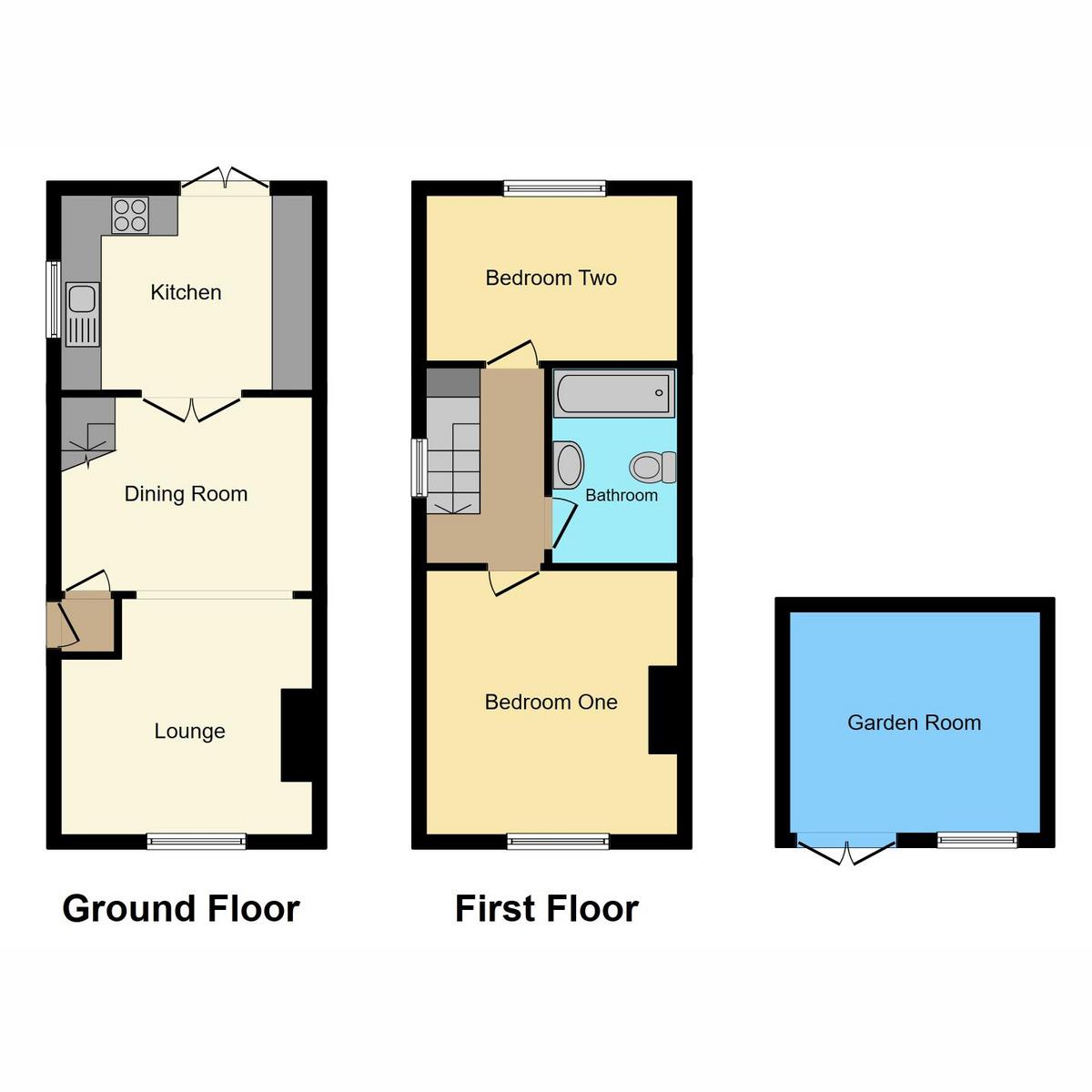 Floorplan 1 of Stambridge Road, Rochford, SS4
