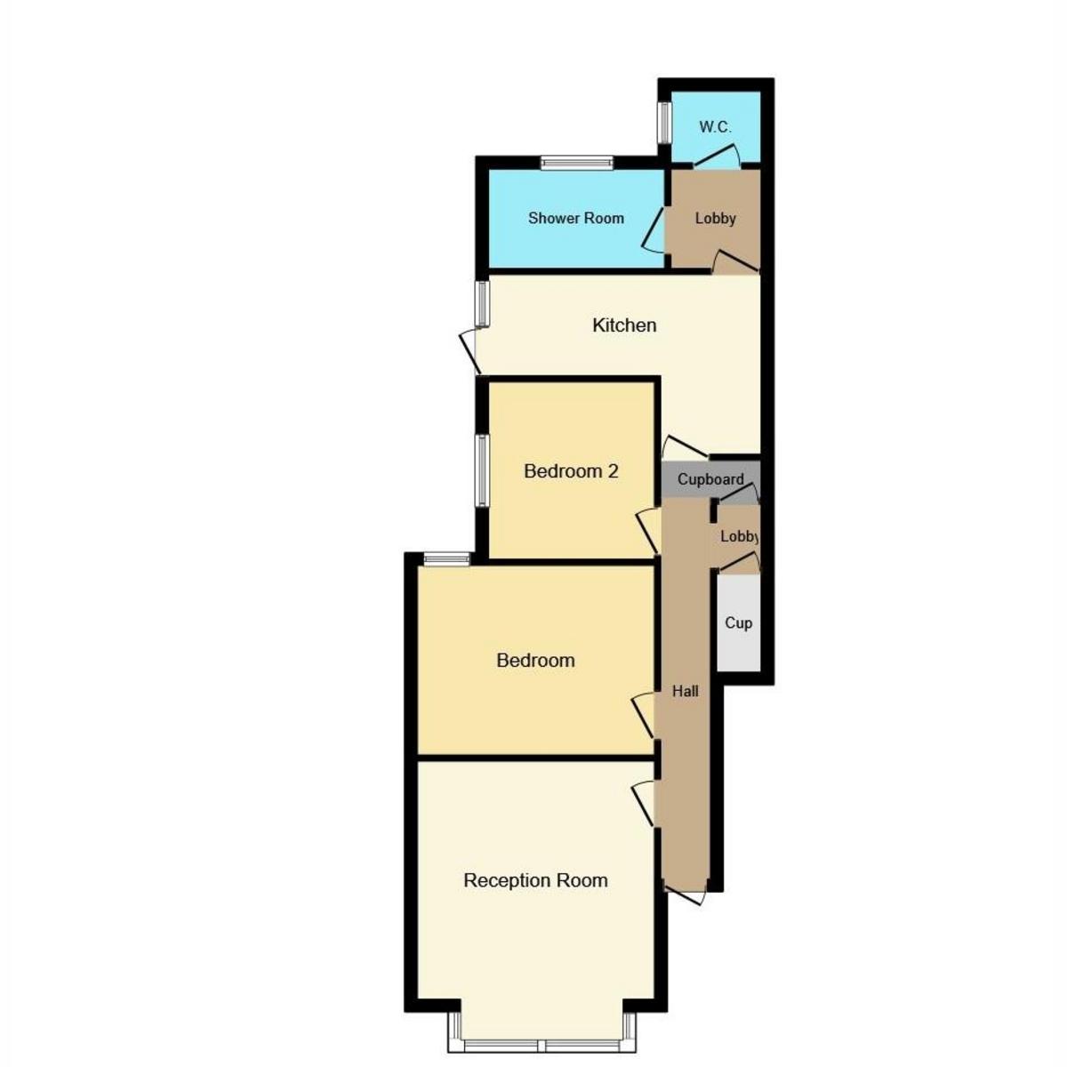 Floorplan 1 of Finchley Road, Westcliff-on-sea, SS0