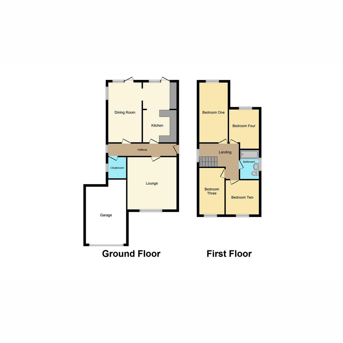 Floorplan 1 of Bishopsteignton Shoeburyness, Southend-on-sea, SS3
