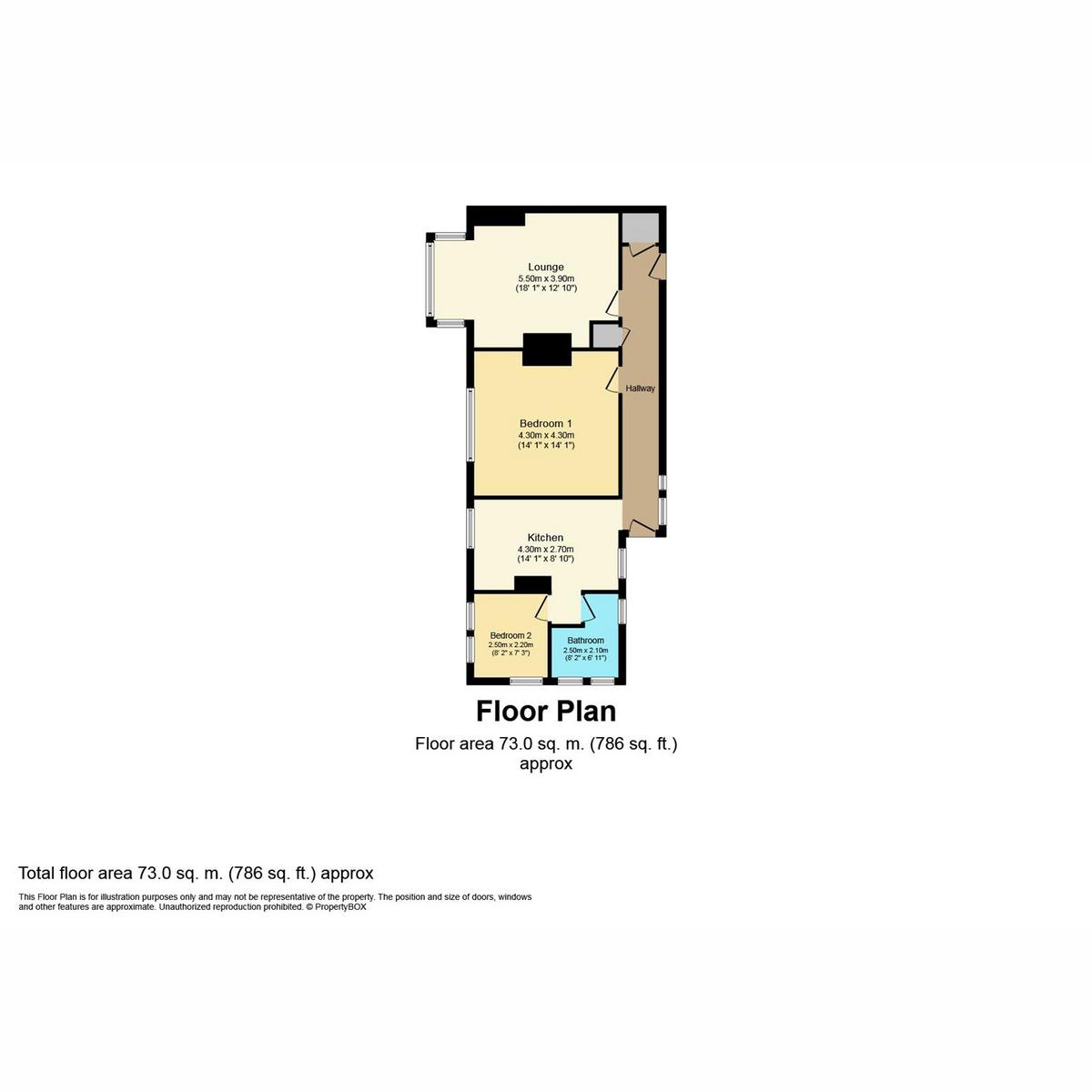 Floorplan 1 of Chalkwell Avenue, Westcliff-on-sea, SS0