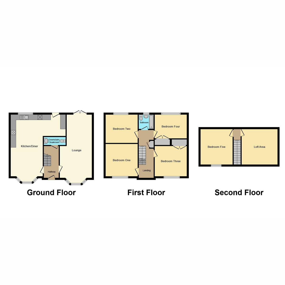 Floorplan 1 of Fairview Drive, Westcliff-on-sea, SS0