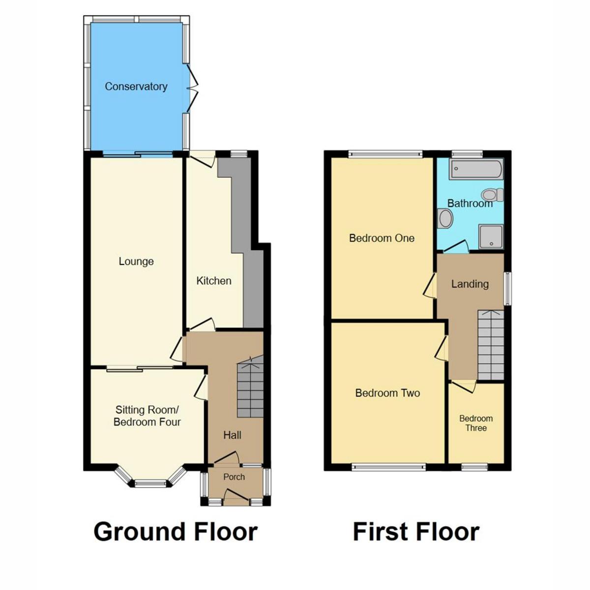 Floorplan 1 of Elm Road Shoeburyness, Southend-on-sea, SS3