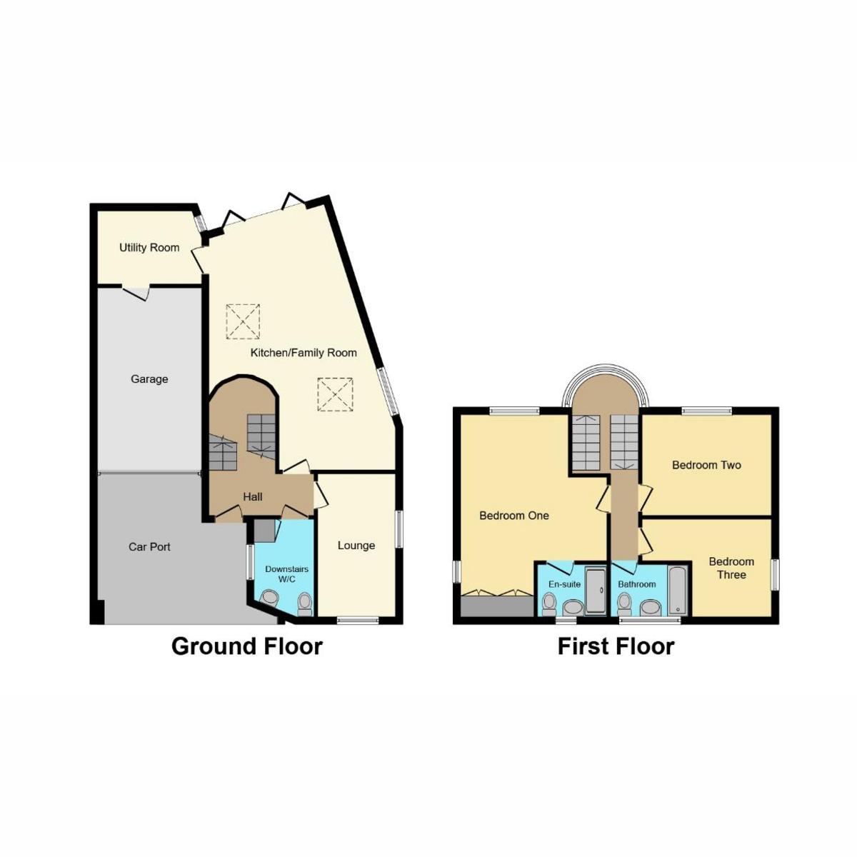 Floorplan 1 of Grosvenor Mews, Westcliff-on-sea, SS0