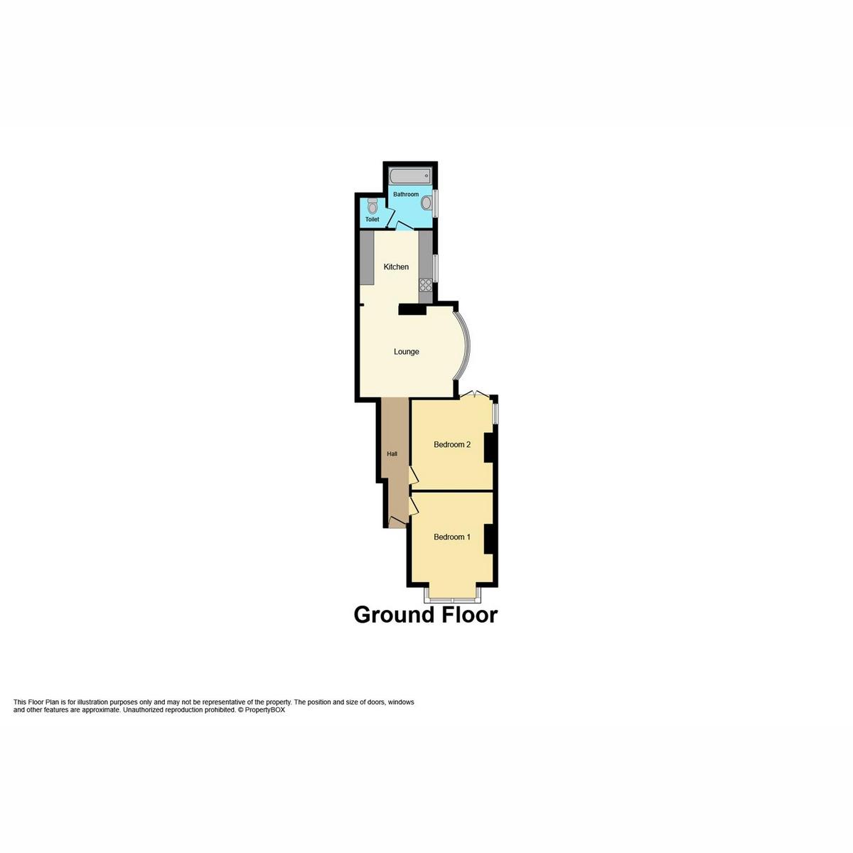 Floorplan 1 of Hermitage Road, Westcliff-on-sea, SS0