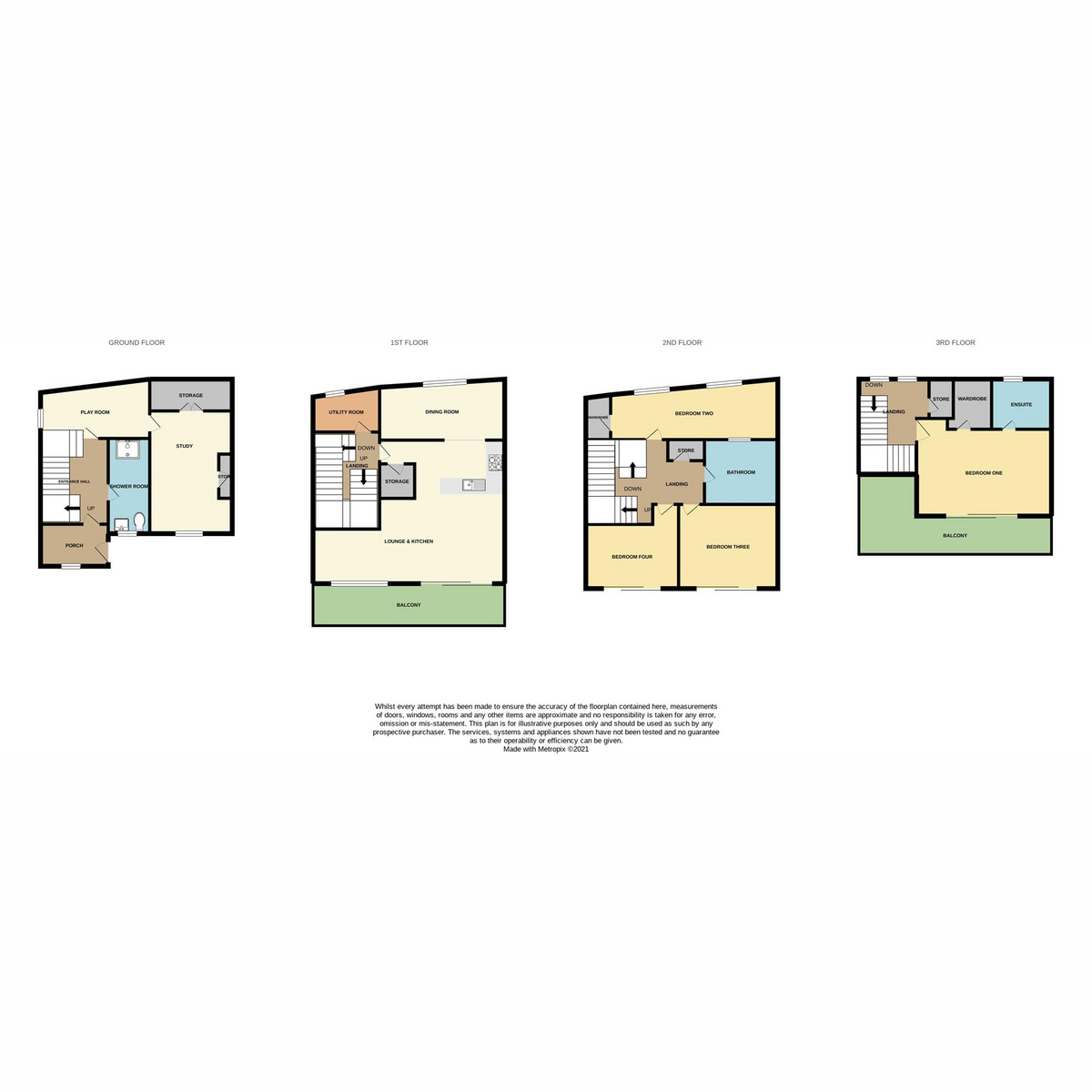 Floorplan 1 of Chalkwell Esplanade, Westcliff-on-sea, SS0