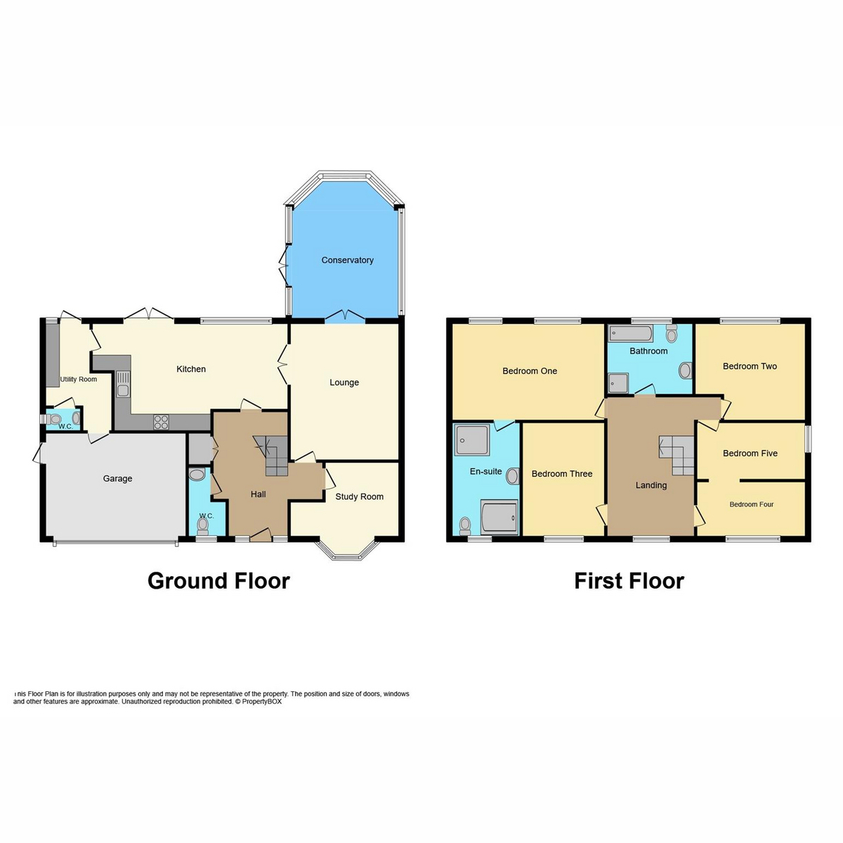 Floorplan 1 of Coptfold Close, Thorpe Bay, SS1