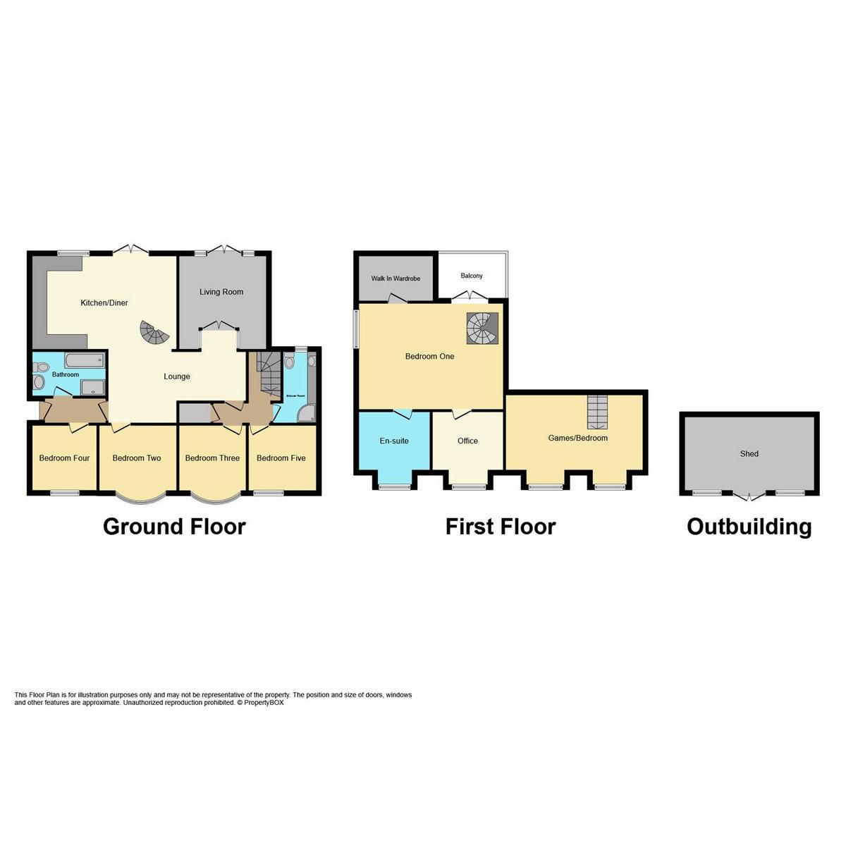Floorplan 1 of Central Close, Hadleigh, SS7