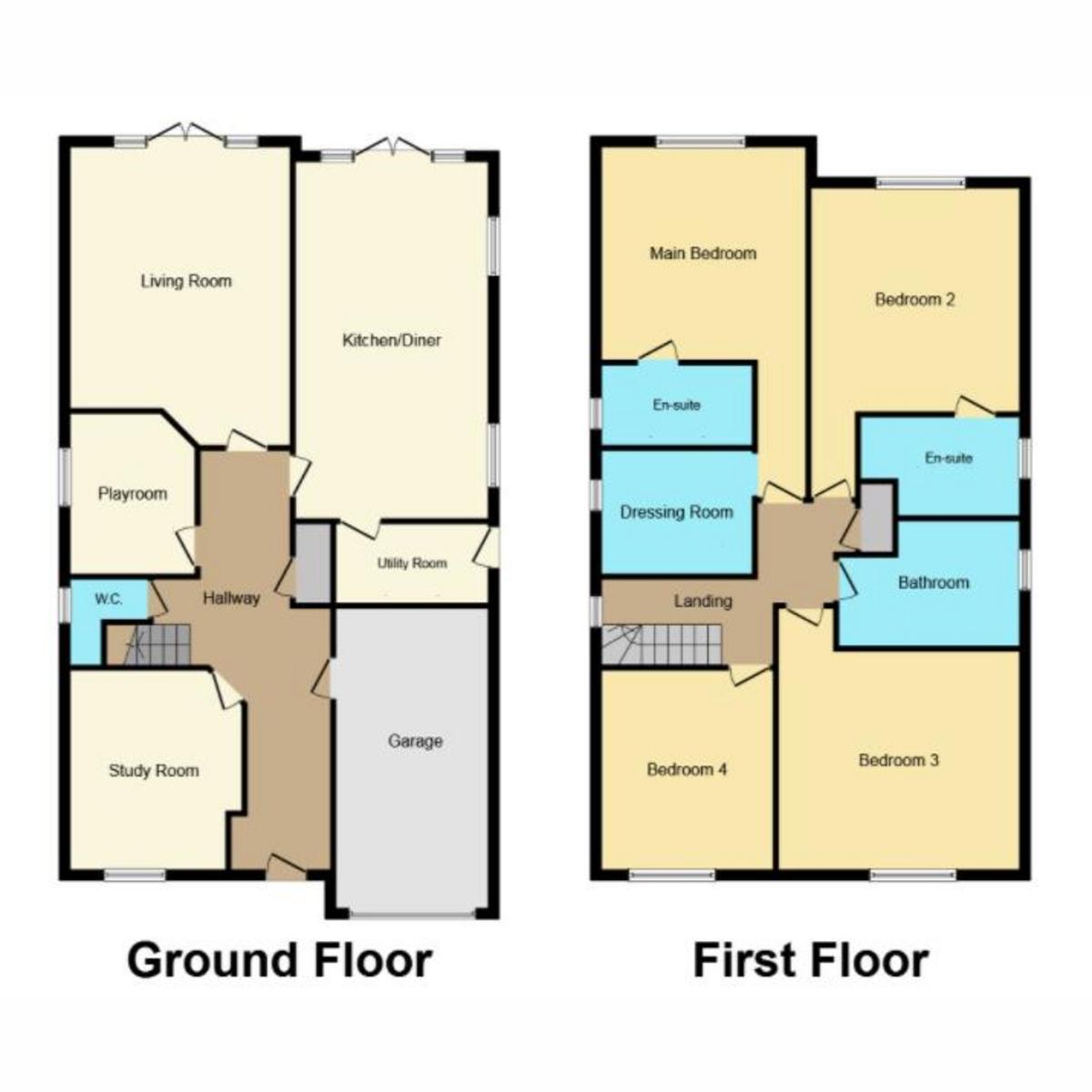 Floorplan 1 of Swale Road, Benfleet, SS7