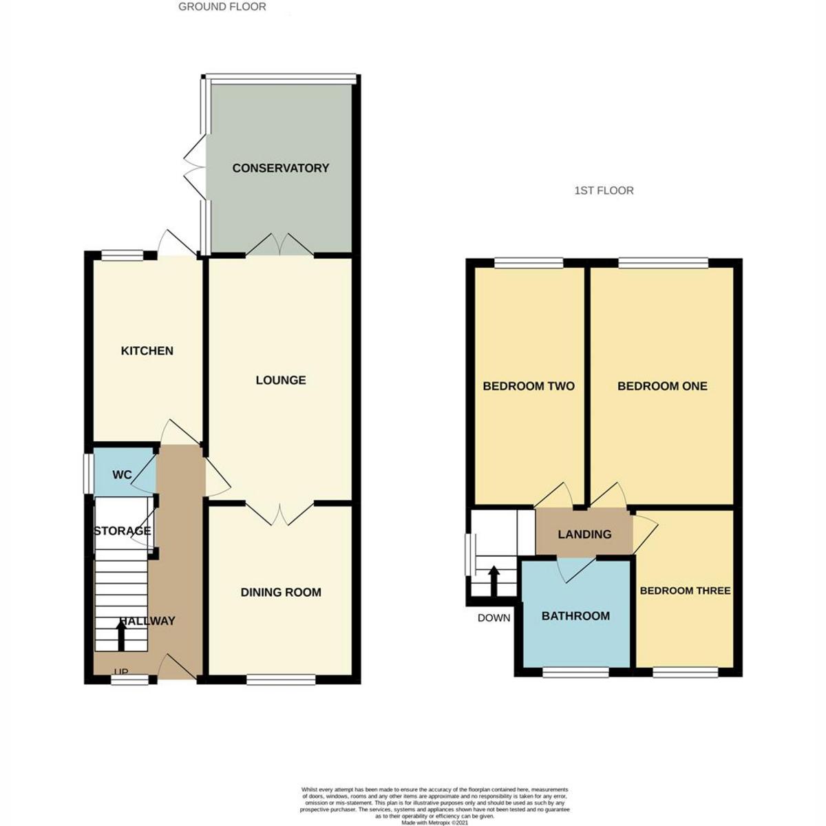Floorplan 1 of Cumberland Avenue, Benfleet, SS7