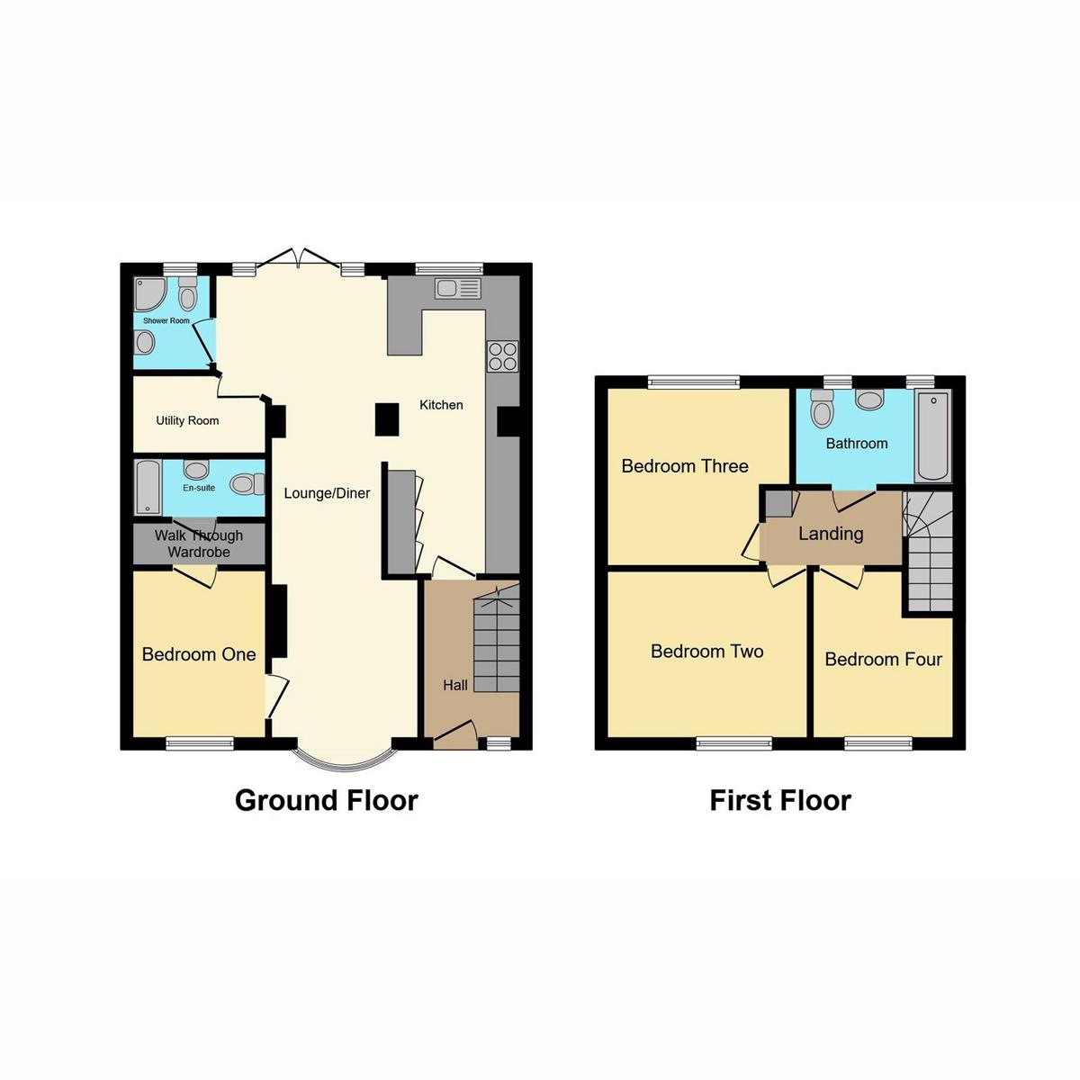 Floorplan 1 of Napier Gardens, Benfleet, SS7