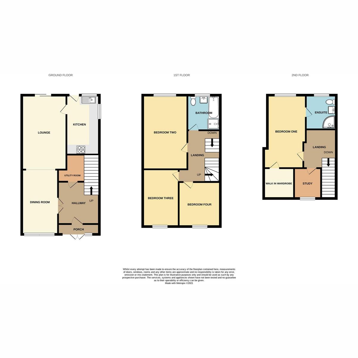 Floorplan 1 of Broadclyst Avenue, Leigh-on-sea, SS9