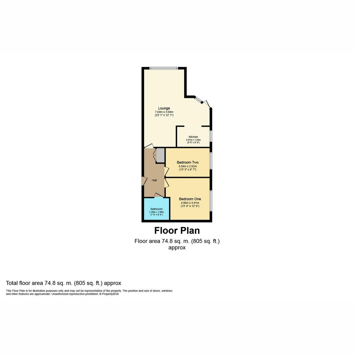 Floorplan 1 of Elm Road, Leigh-on-sea, SS9