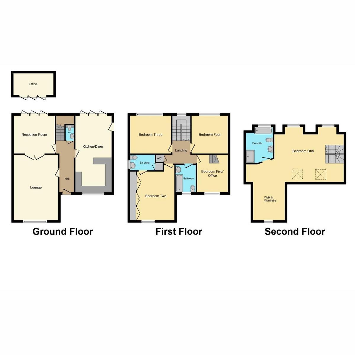 Floorplan 1 of Tyms Way, Rayleigh, SS6