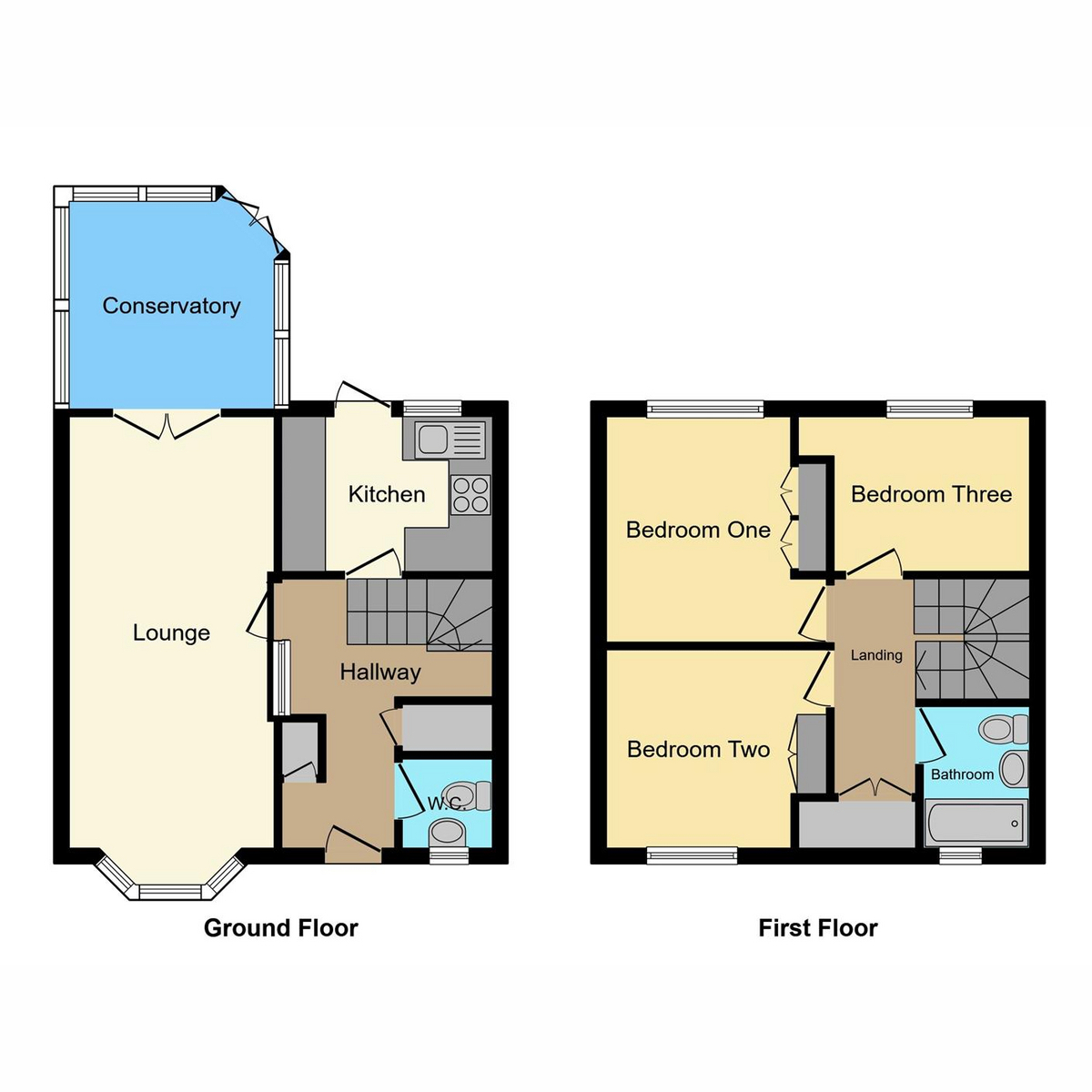 Floorplan 1 of Brooklyn Drive, Rayleigh, SS6