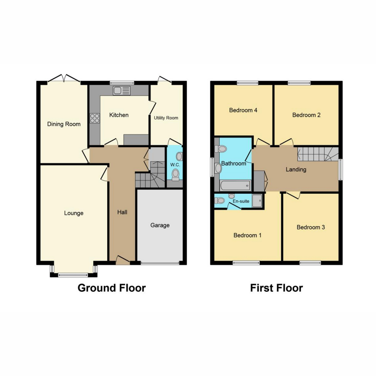 Floorplan 1 of Main Road, Hawkwell Hockley, SS5