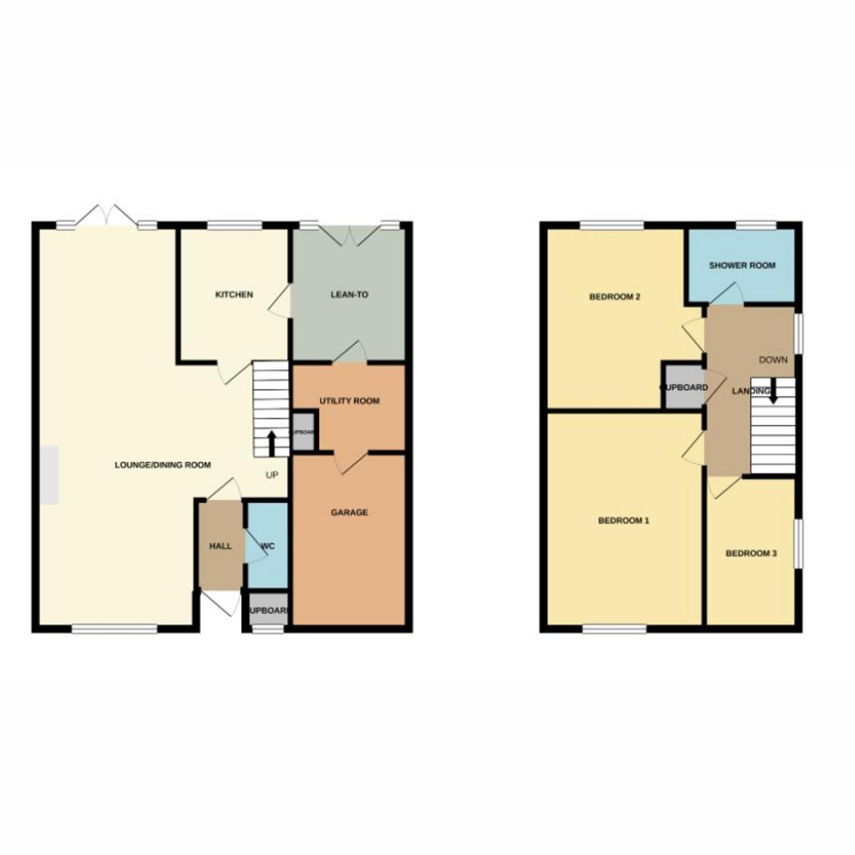 Floorplan 1 of Surrey Way, Basildon, SS15