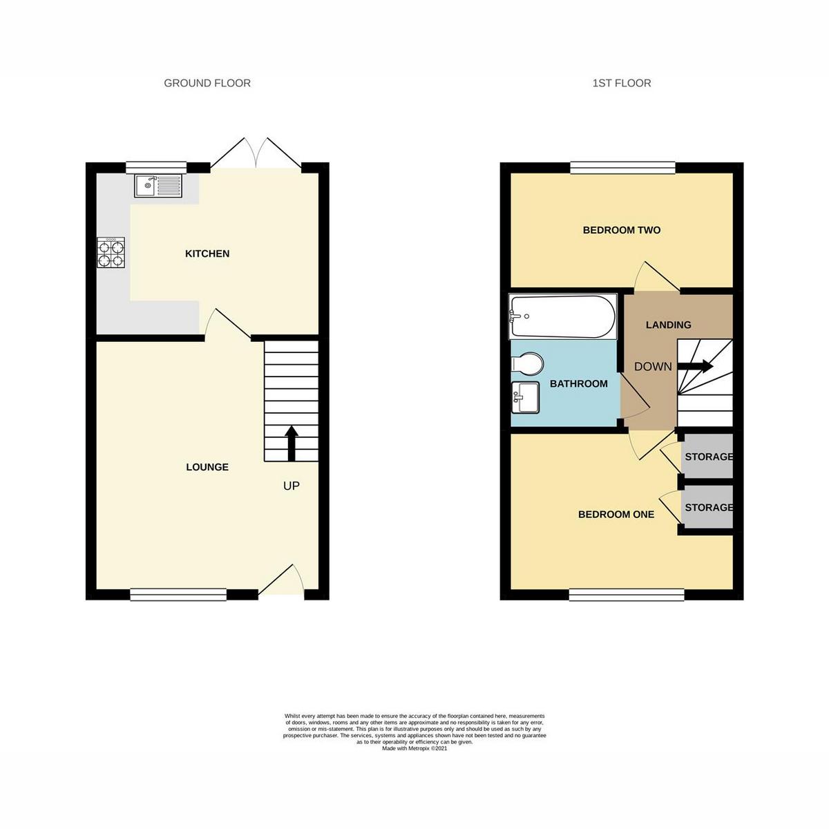 Floorplan 1 of Maitland Road, Wickford, SS12