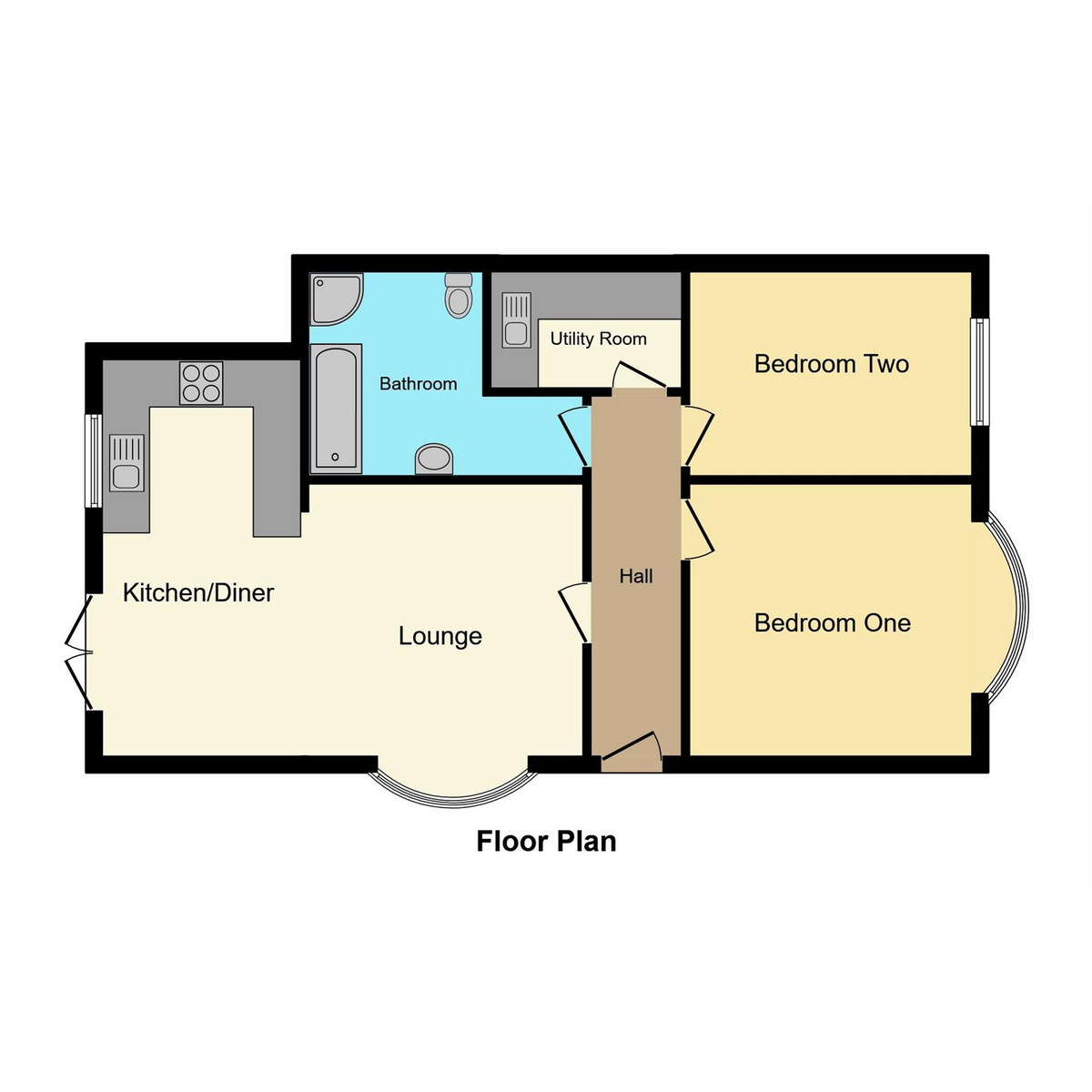 Floorplan 1 of Oak Road North, Benfleet, SS7