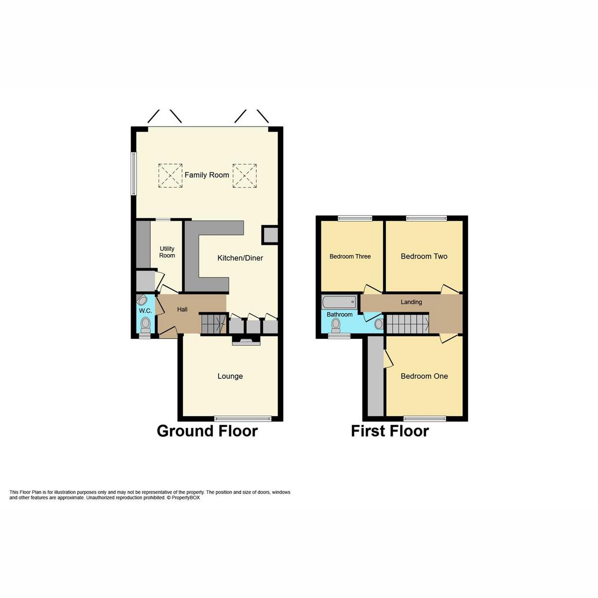 Floorplan 1 of Heycroft Road, Hockley, SS5