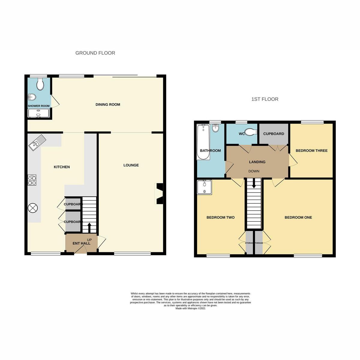 Floorplan 1 of Tilney Turn, Basildon, SS16