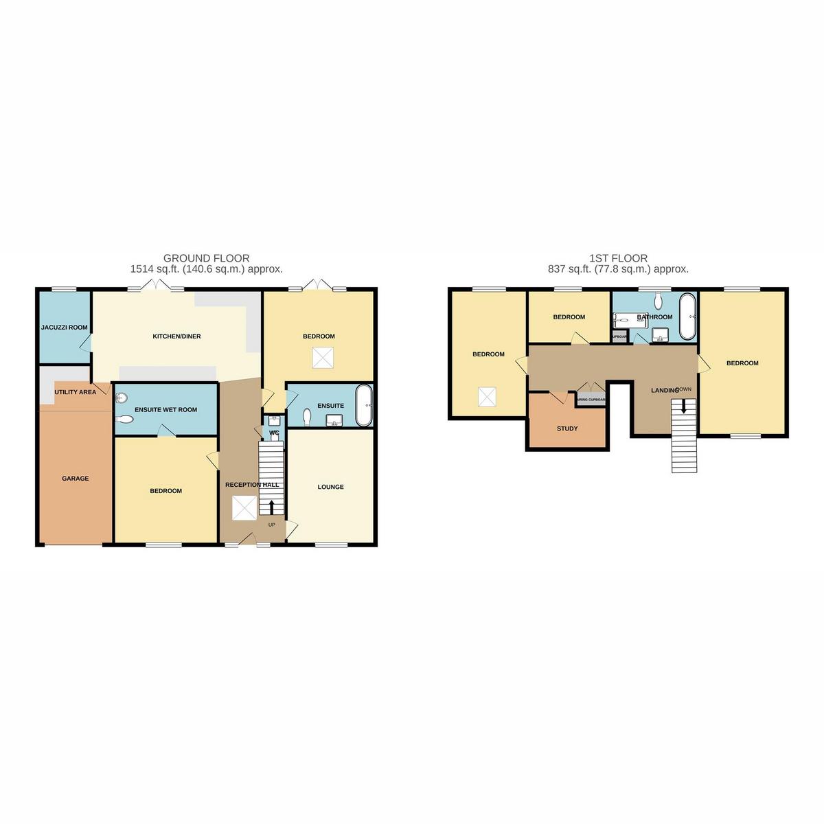 Floorplan 1 of Scrub Lane, Benfleet, SS7
