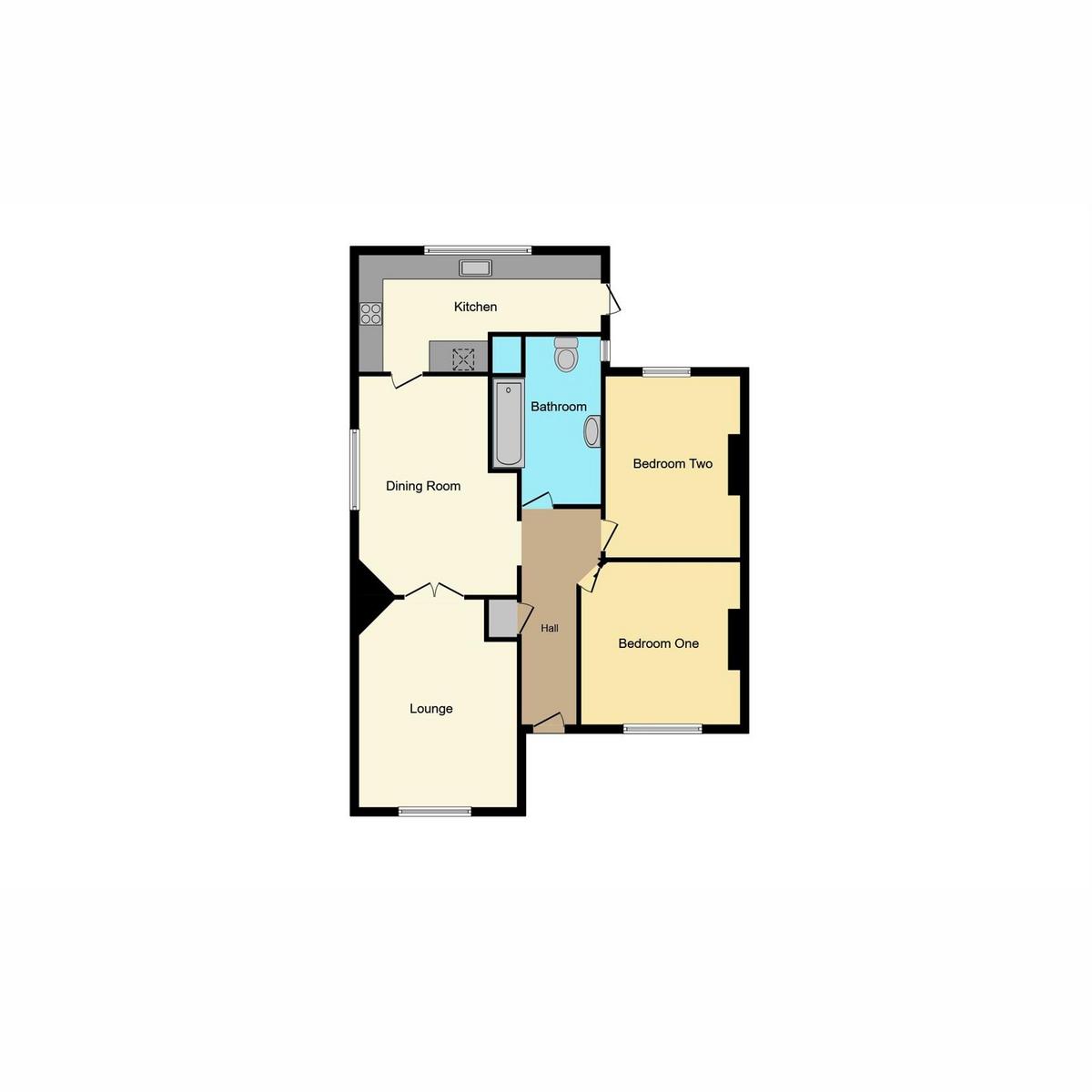 Floorplan 1 of Berry Lane, Langdon Hills Basildon, SS16