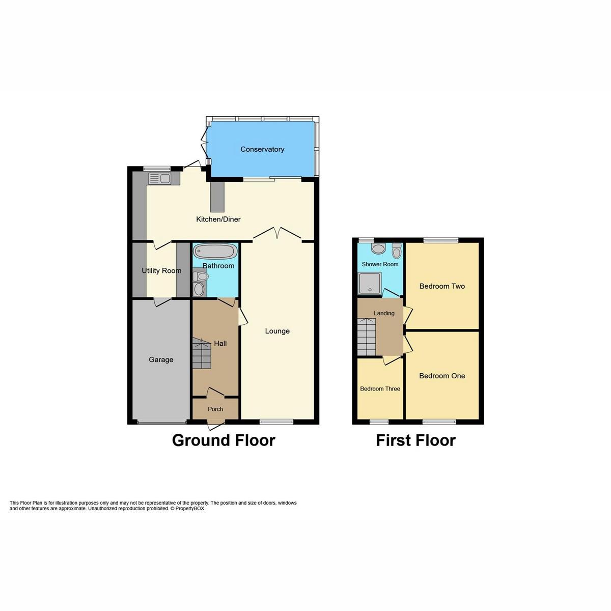 Floorplan 1 of Bramfield Road West, Rayleigh, SS6