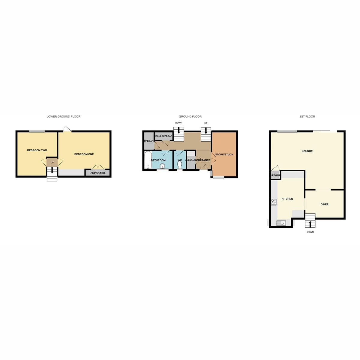 Floorplan 1 of Breamsfield, Basildon, SS16
