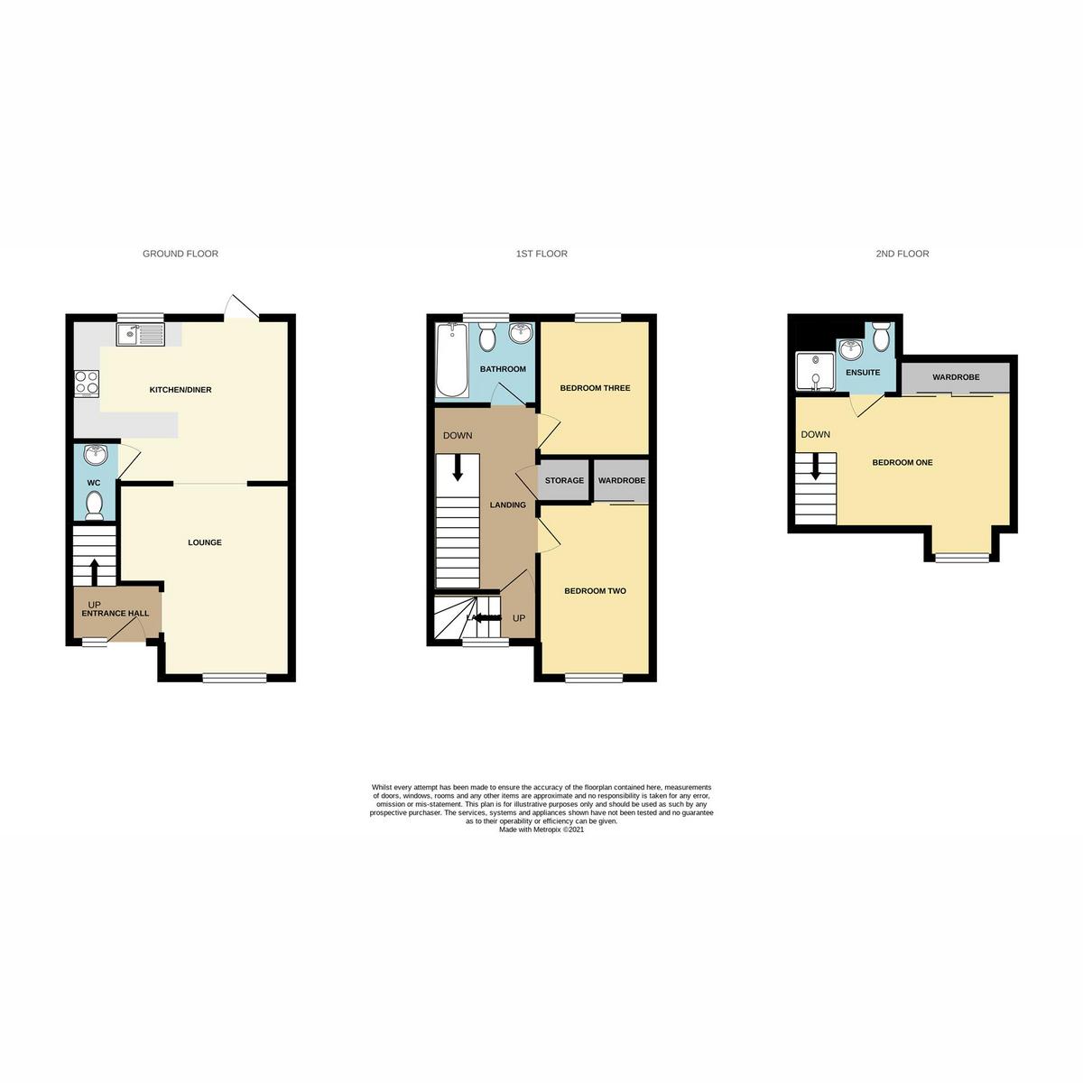 Floorplan 1 of Montgomery Drive, Basildon, SS14